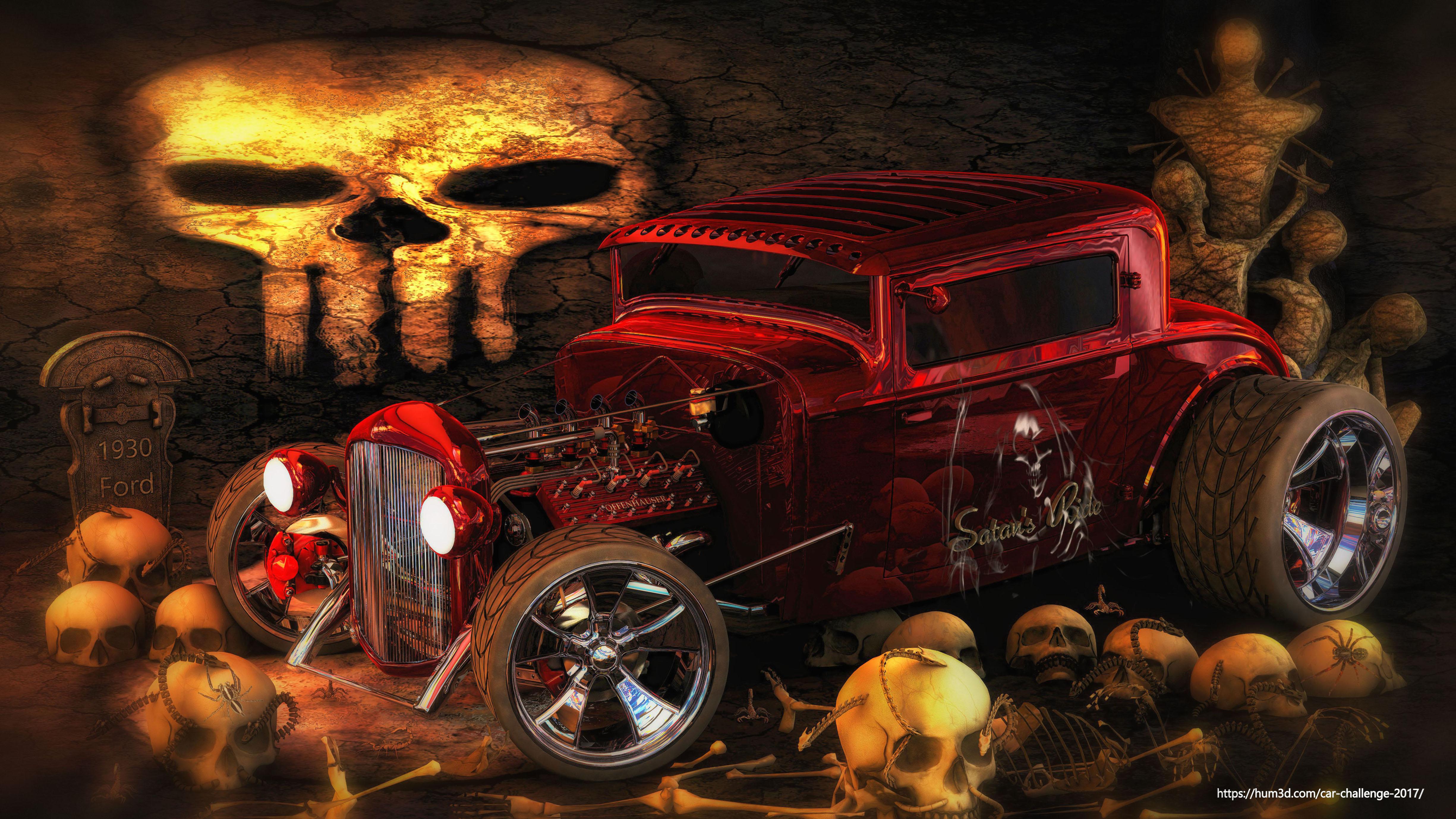 Satan's ride 3d art