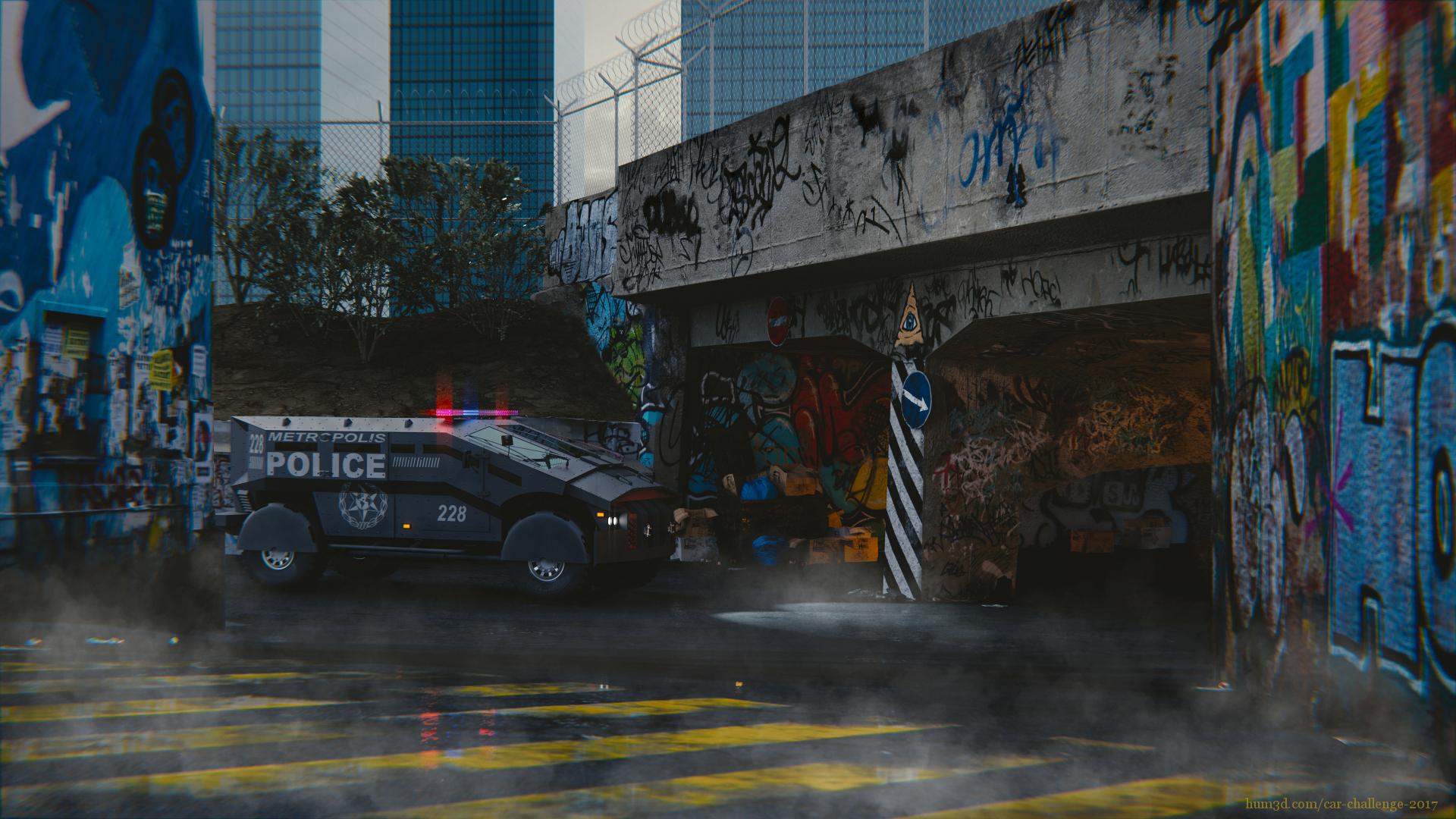The Punisher 3d art