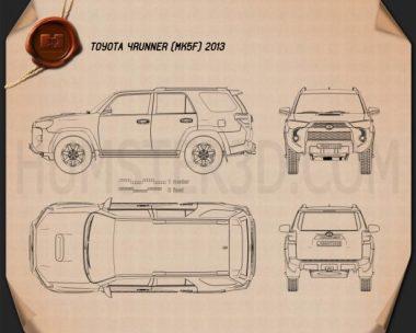 Toyota 4Runner 2013 Blueprint