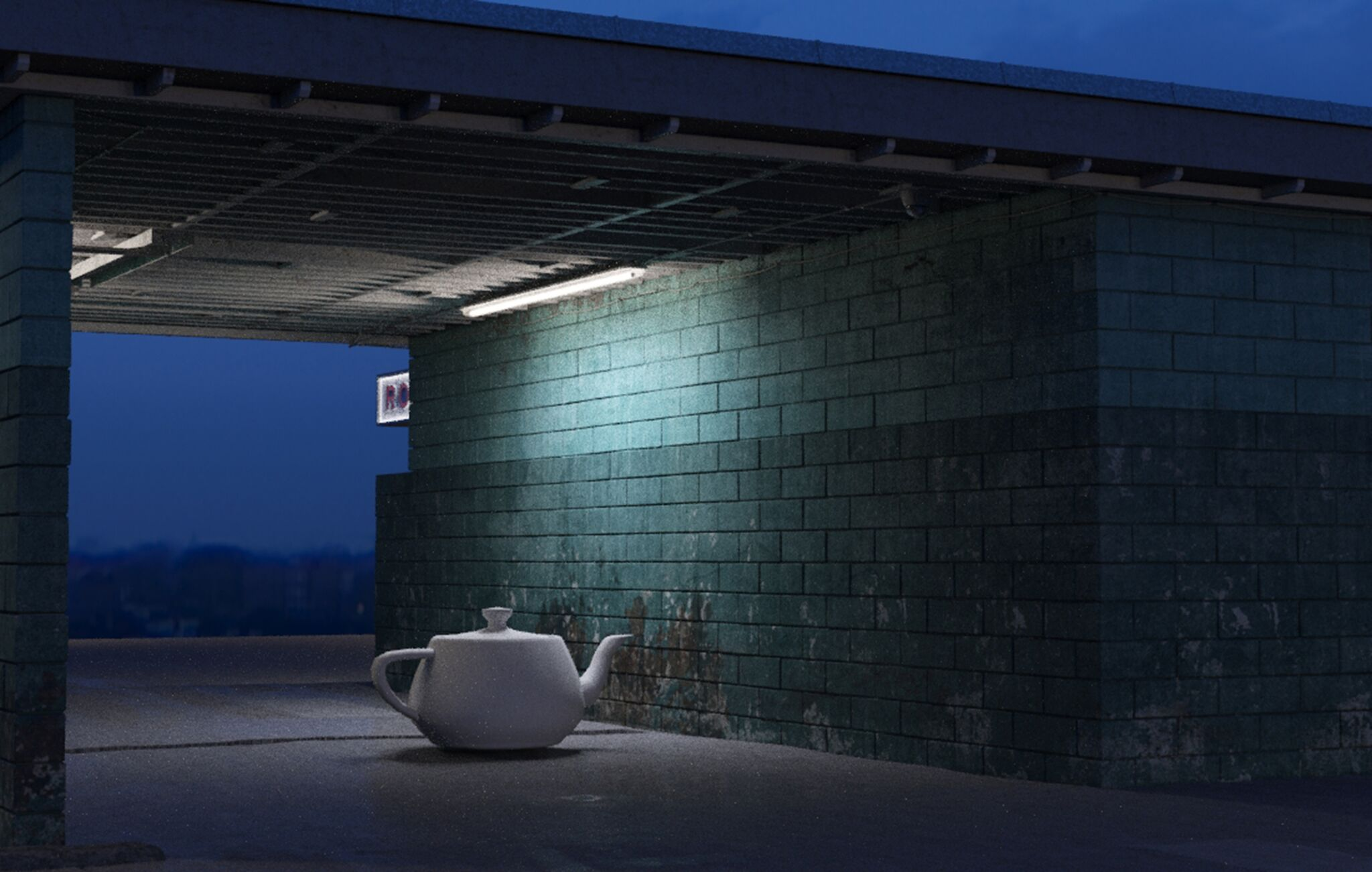 Narek Gabazyan Lonely in the night