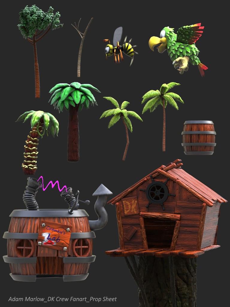 Donkey Kong 64 Enviorment