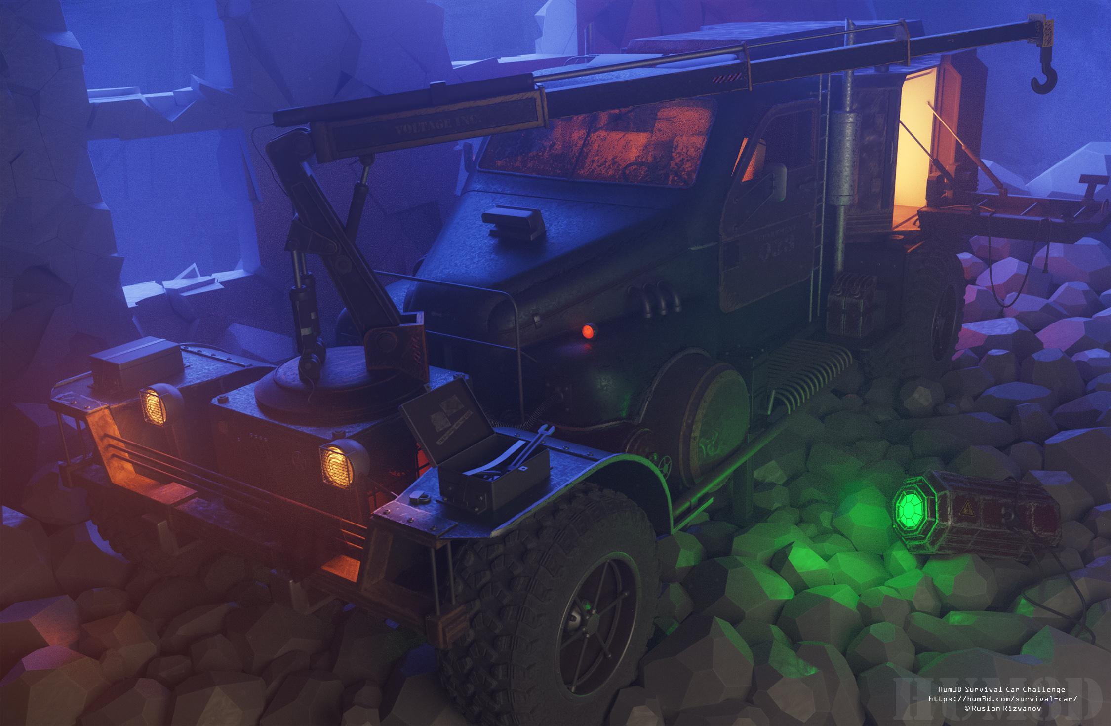 The Battery Harvester 3d art