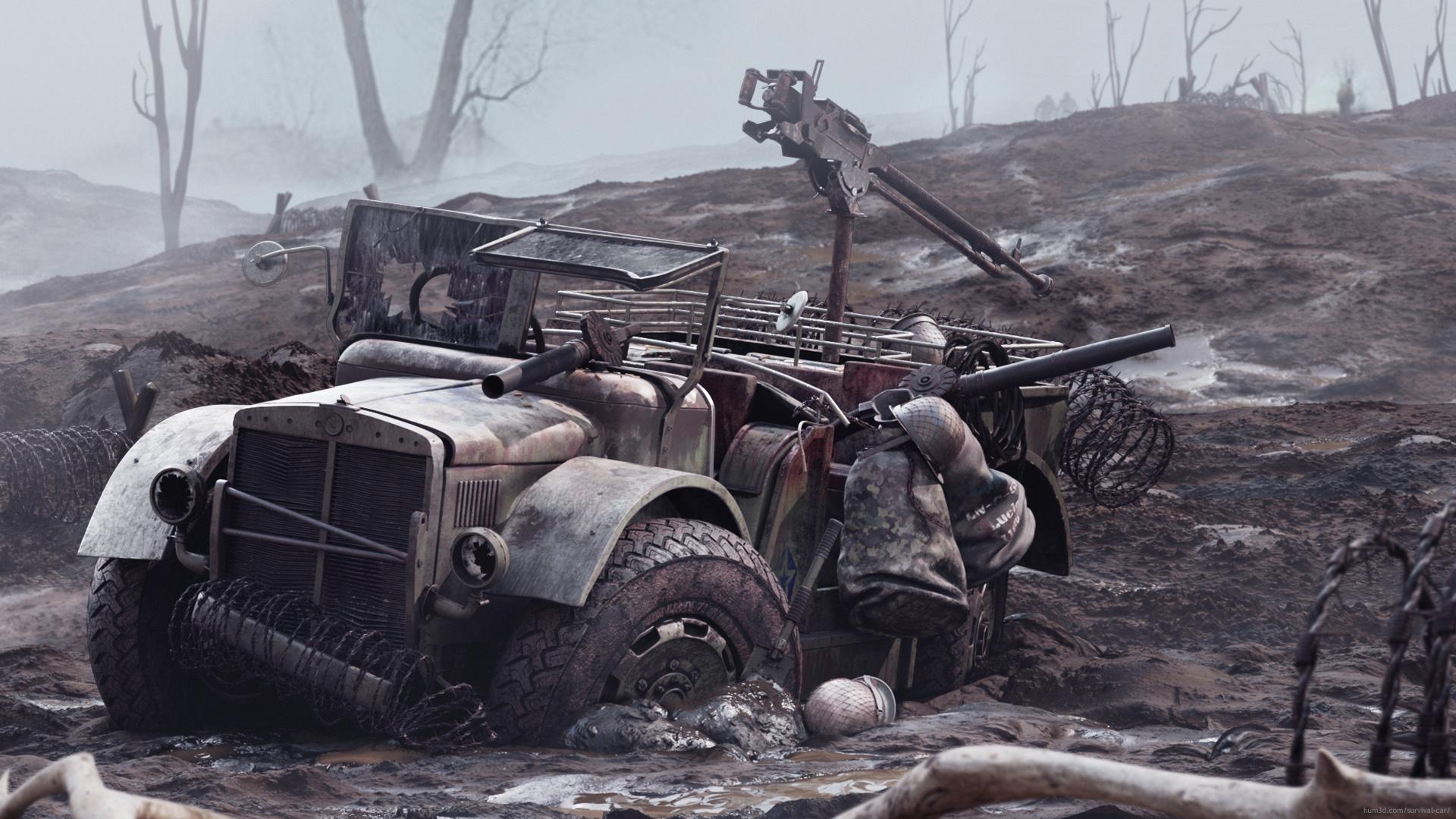 Muddy Hell 3d art