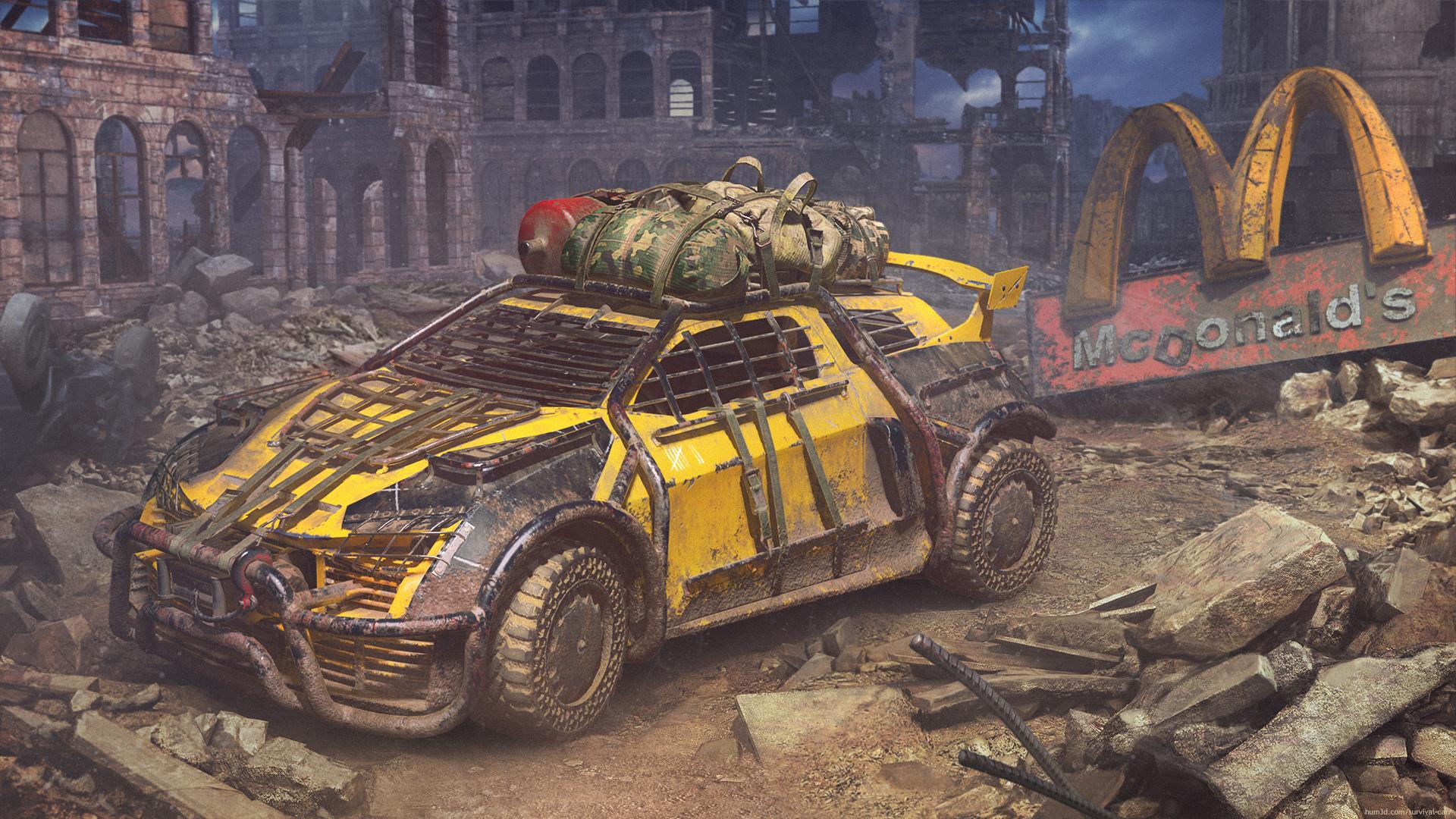 Already in Apocalypse 3d art
