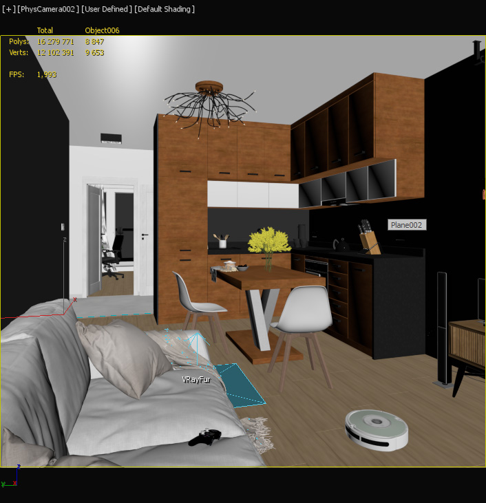 Shots from 3ds max
