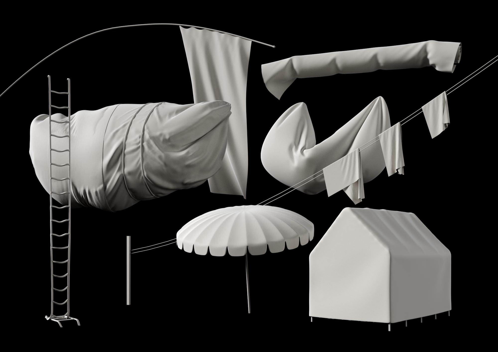 cloth simulations
