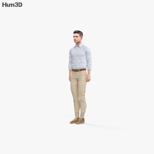 Generic Man 3D model