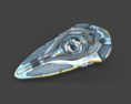 Luminaris Starship Free 3D model