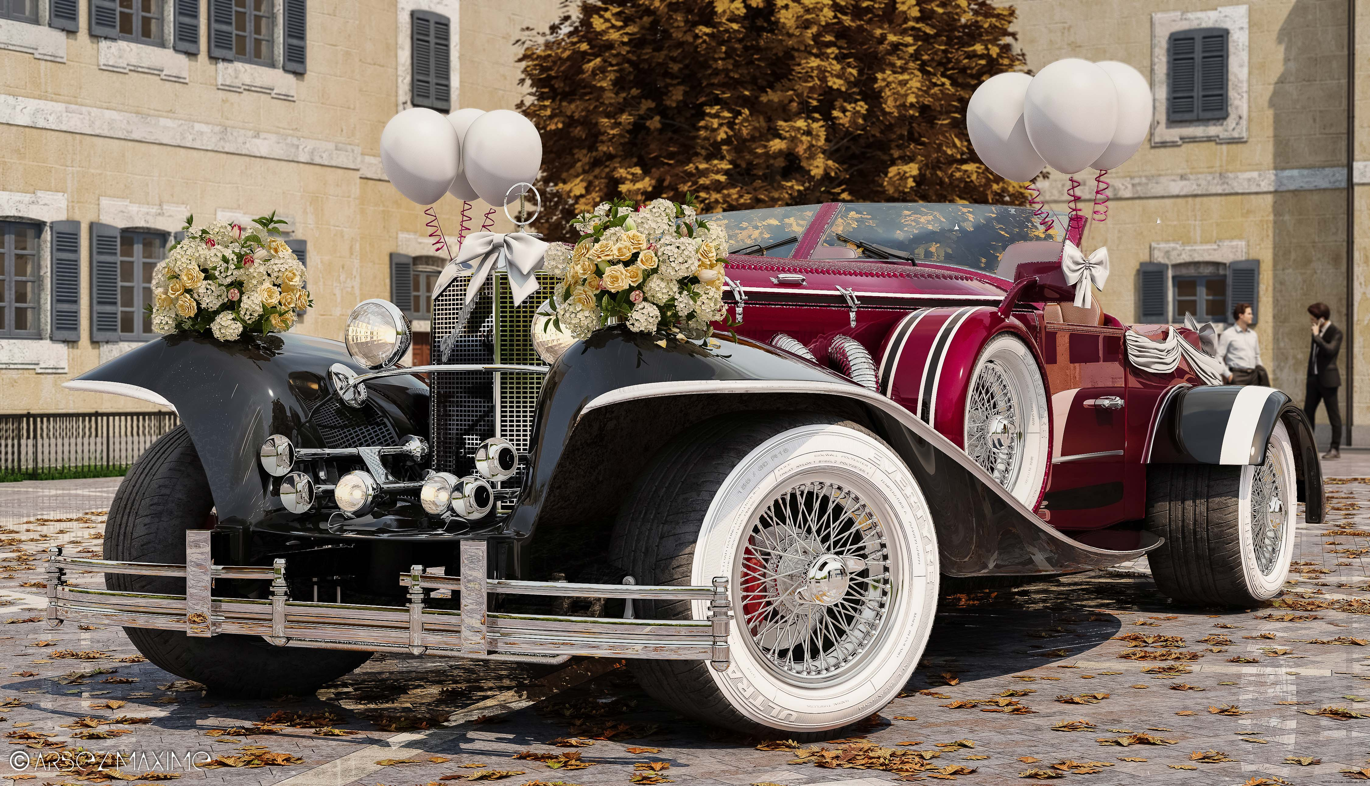 Wedding Excalibur Phaeton 3d art