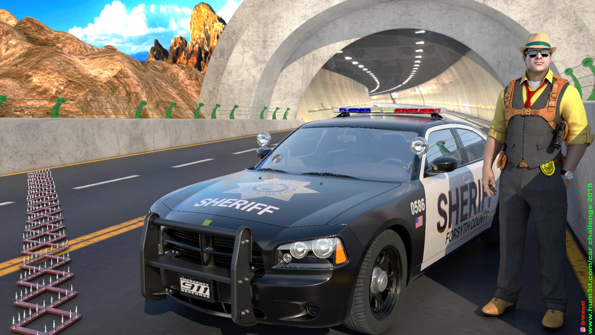Sheriff 3d art