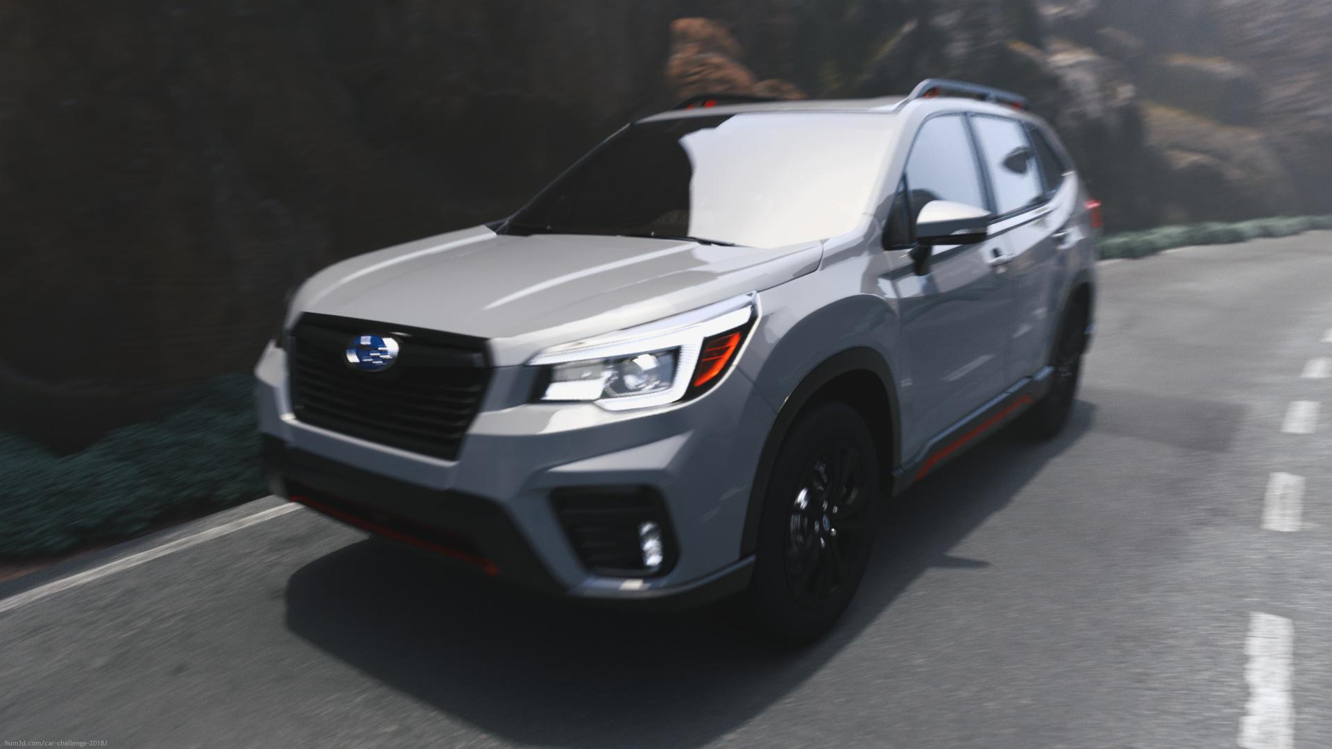 Subaru Forester 2019 Kenya Launch 3d art