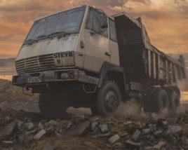 Old Dump Truck