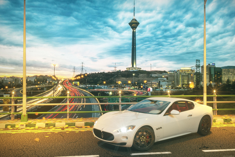 Maserati In Tehran 3d art