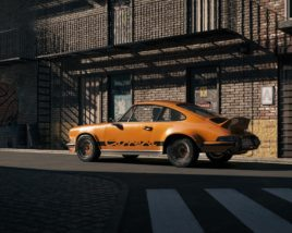 One day in suburbia - Porsche 911 RS