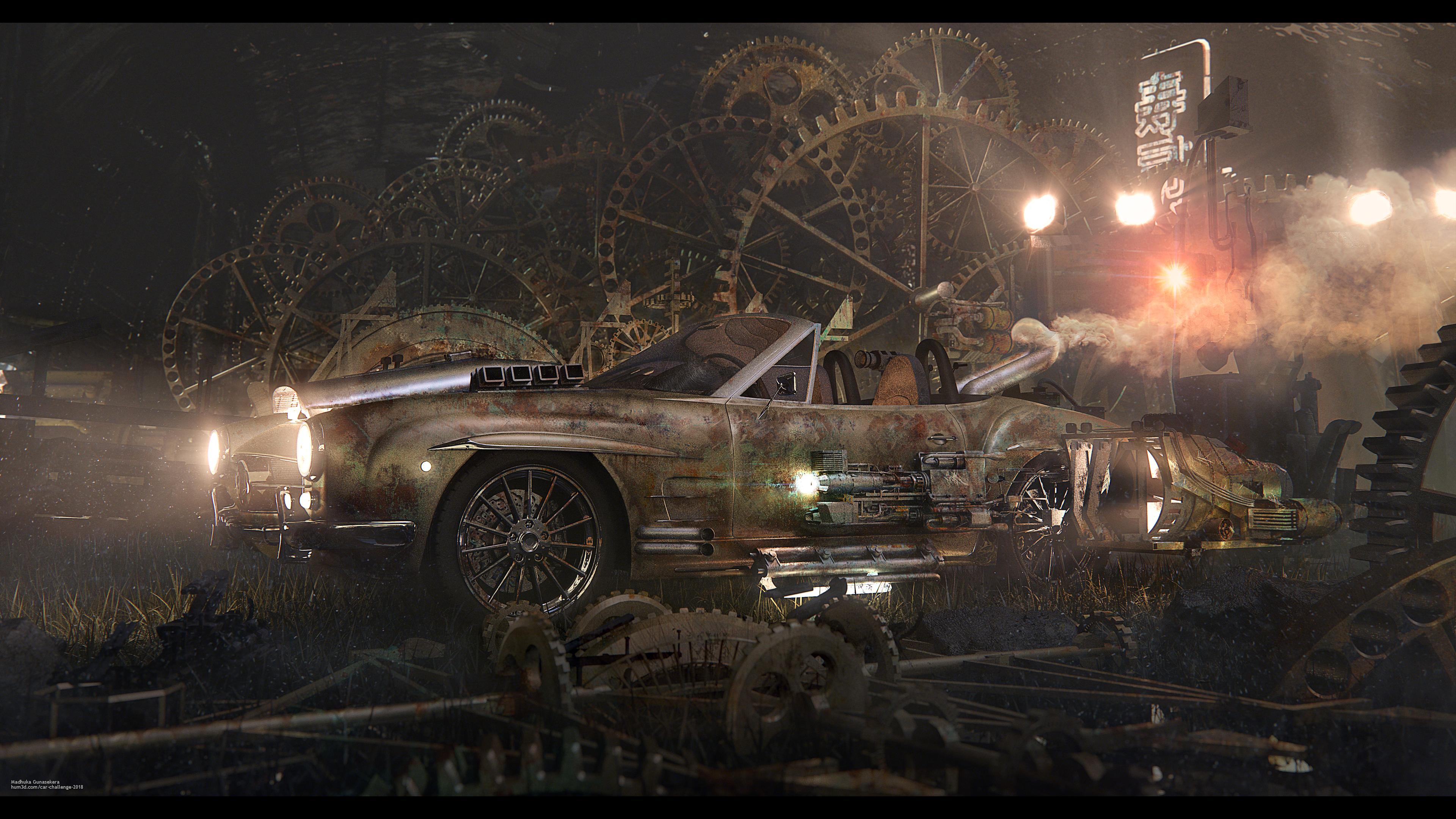 Time Machine 3d art