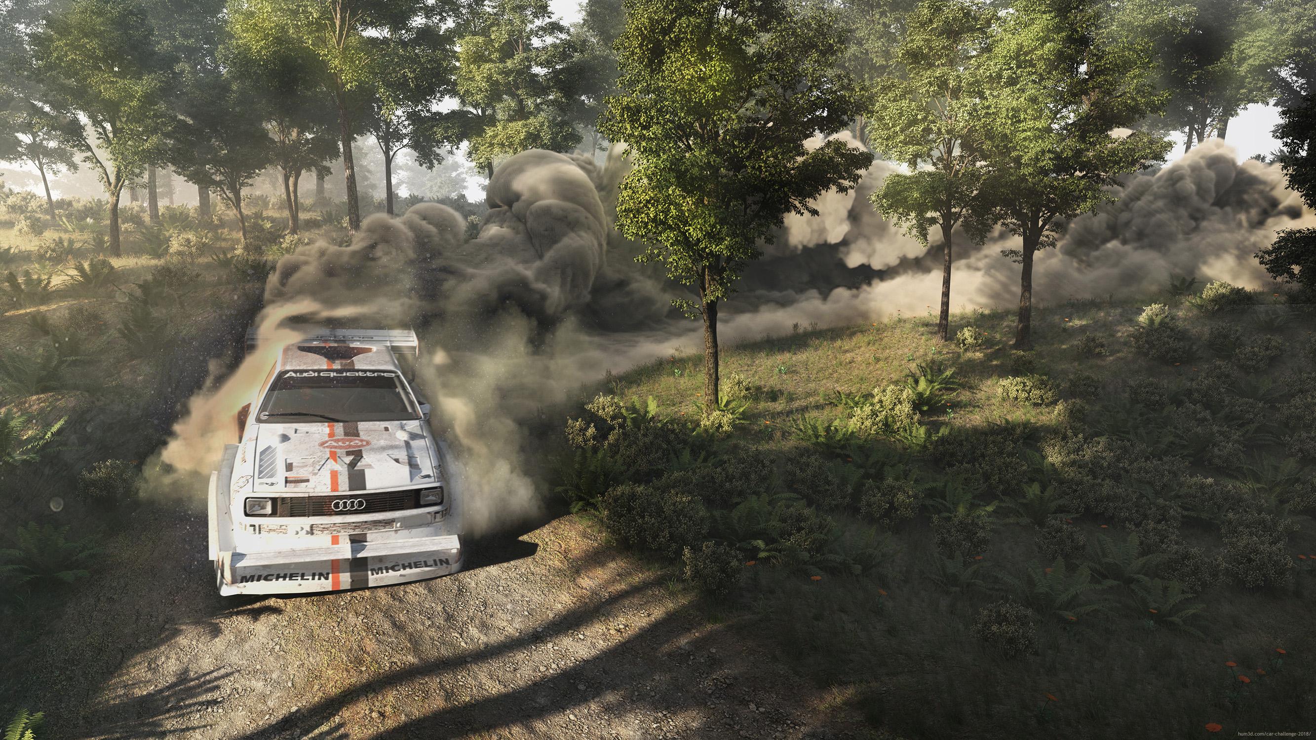 True Rally Legend 3d art