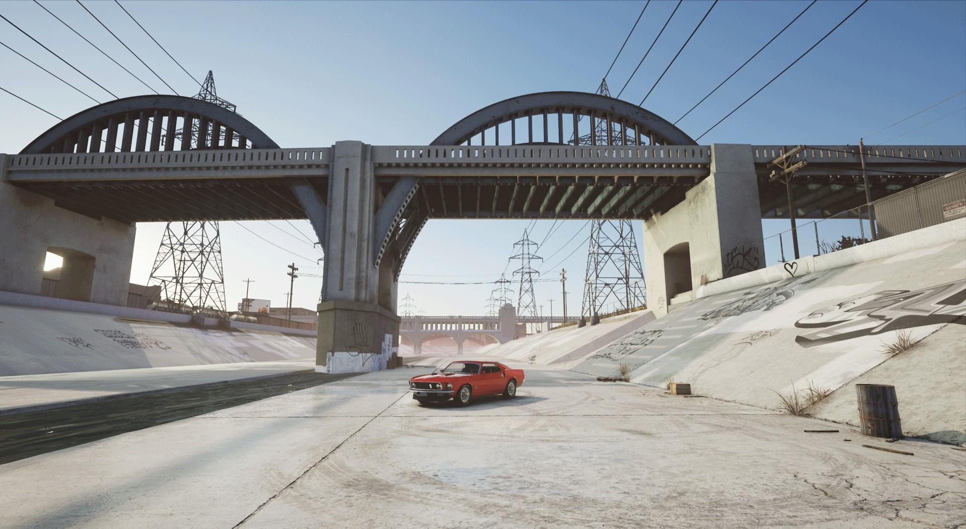 Scene in the Unreal Engine 4