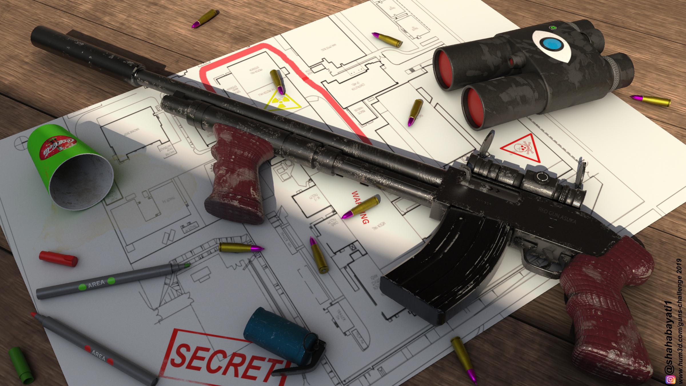 The failure of the terrorists 3d art