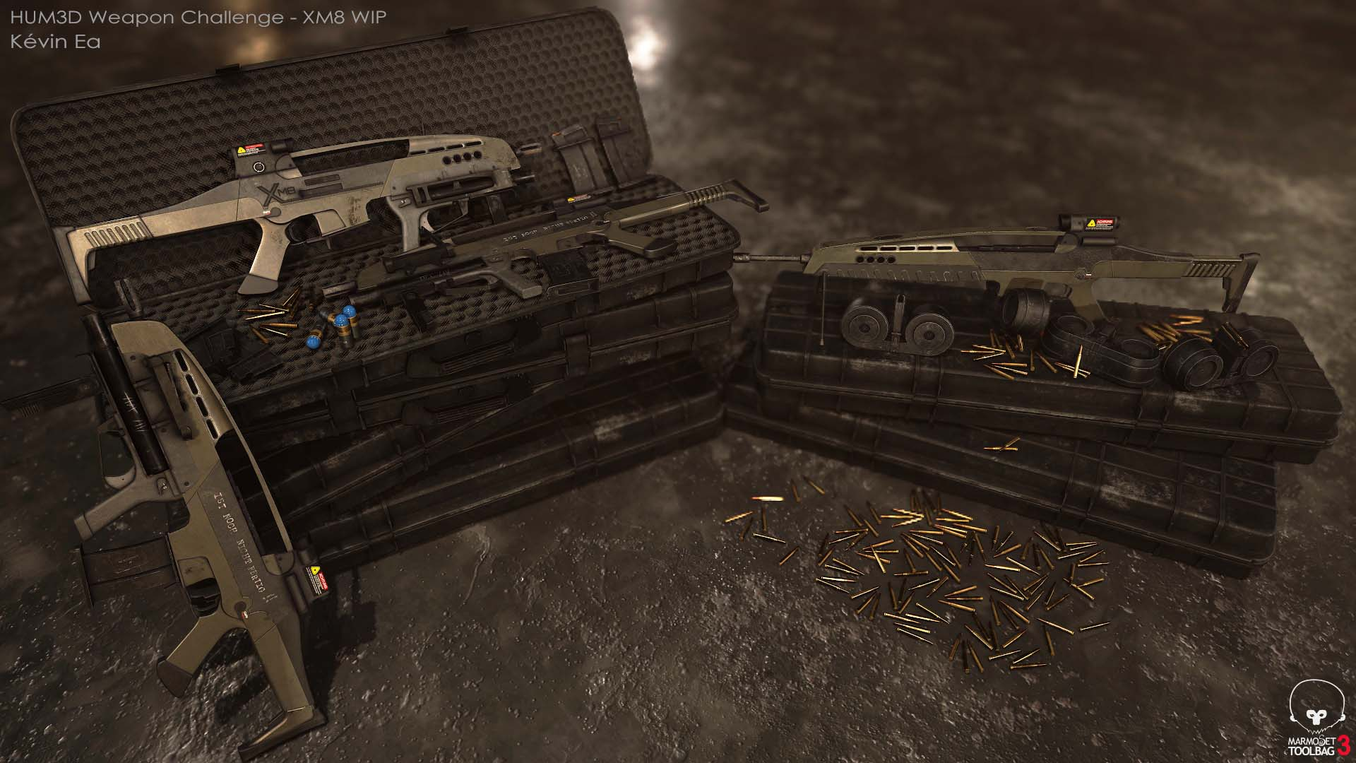 XM8 Reborn 3d art