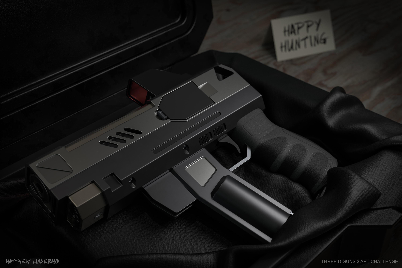 Happy Hunting 3d art