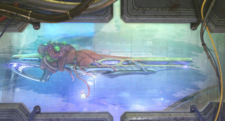 High-Tech Symbiosis 3d art