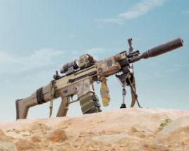 Scar-L - Assault Rifle - aka - Betty
