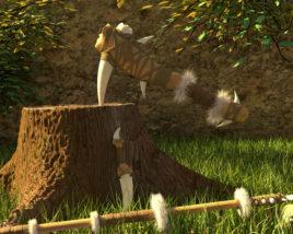 The Paleolithic era weapon set