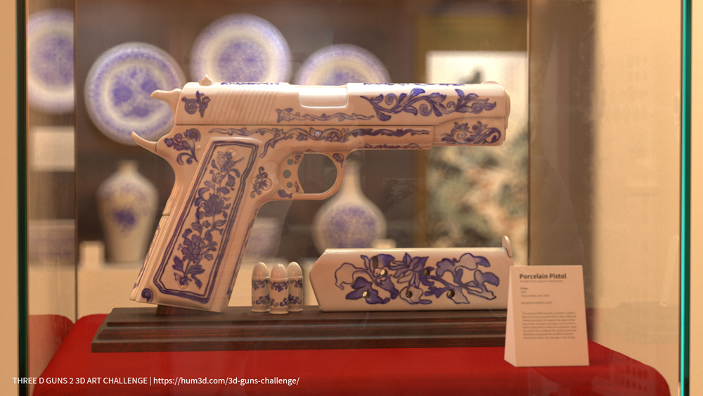 Porcelain 1911 by Yi Sun