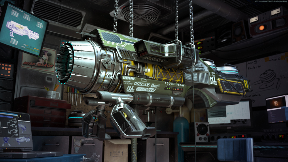 The Warden – Competition Particle Cannon by John Governanti