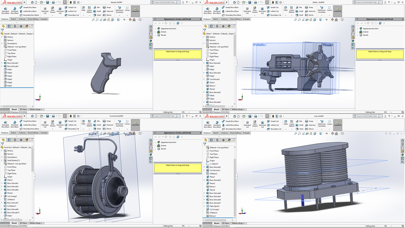 basic shapes in Solidworks
