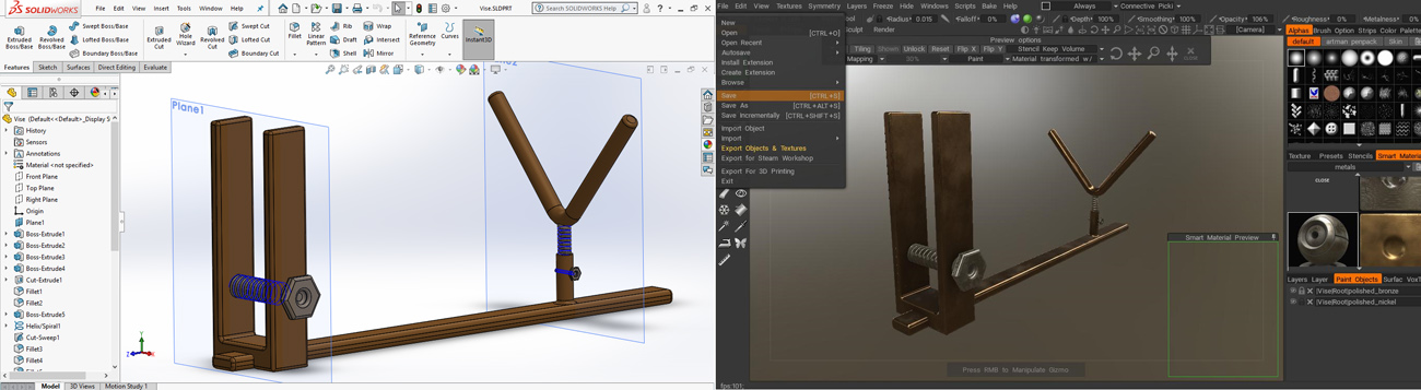 modeling and texturing some props