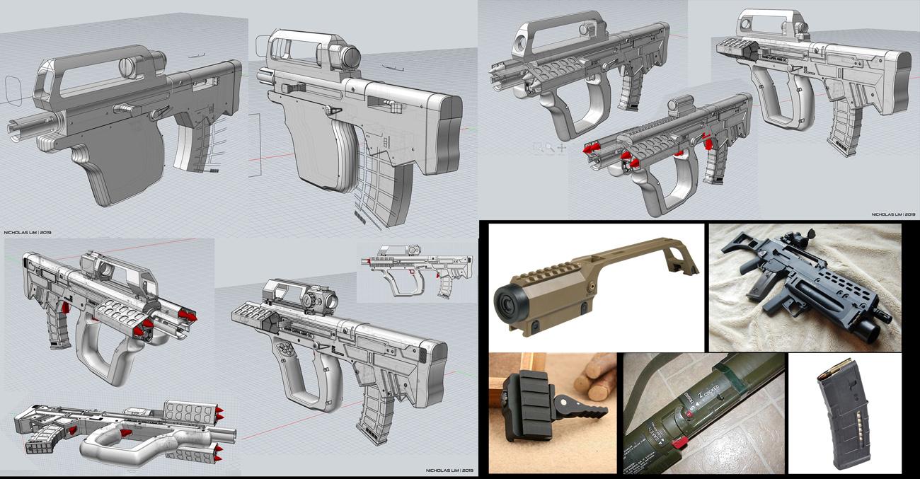 Design modeled in MoI3D