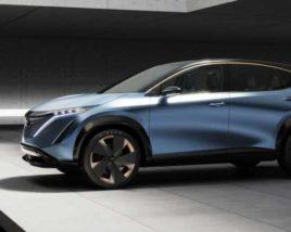 3D model of Nissan Ariya