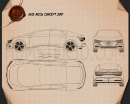 Audi Aicon 2017 Blueprint