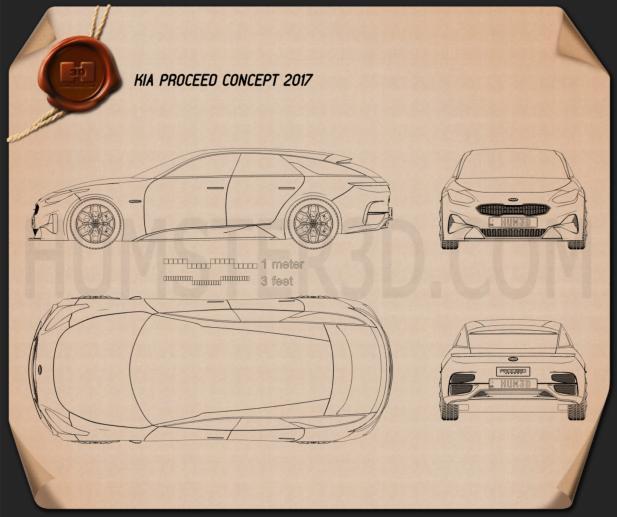 Kia Proceed 2017 Blueprint