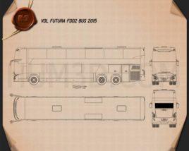 VDL Futura FDD2 Bus 2015 Blueprint
