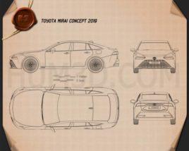 Toyota Mirai 2019 Blueprint