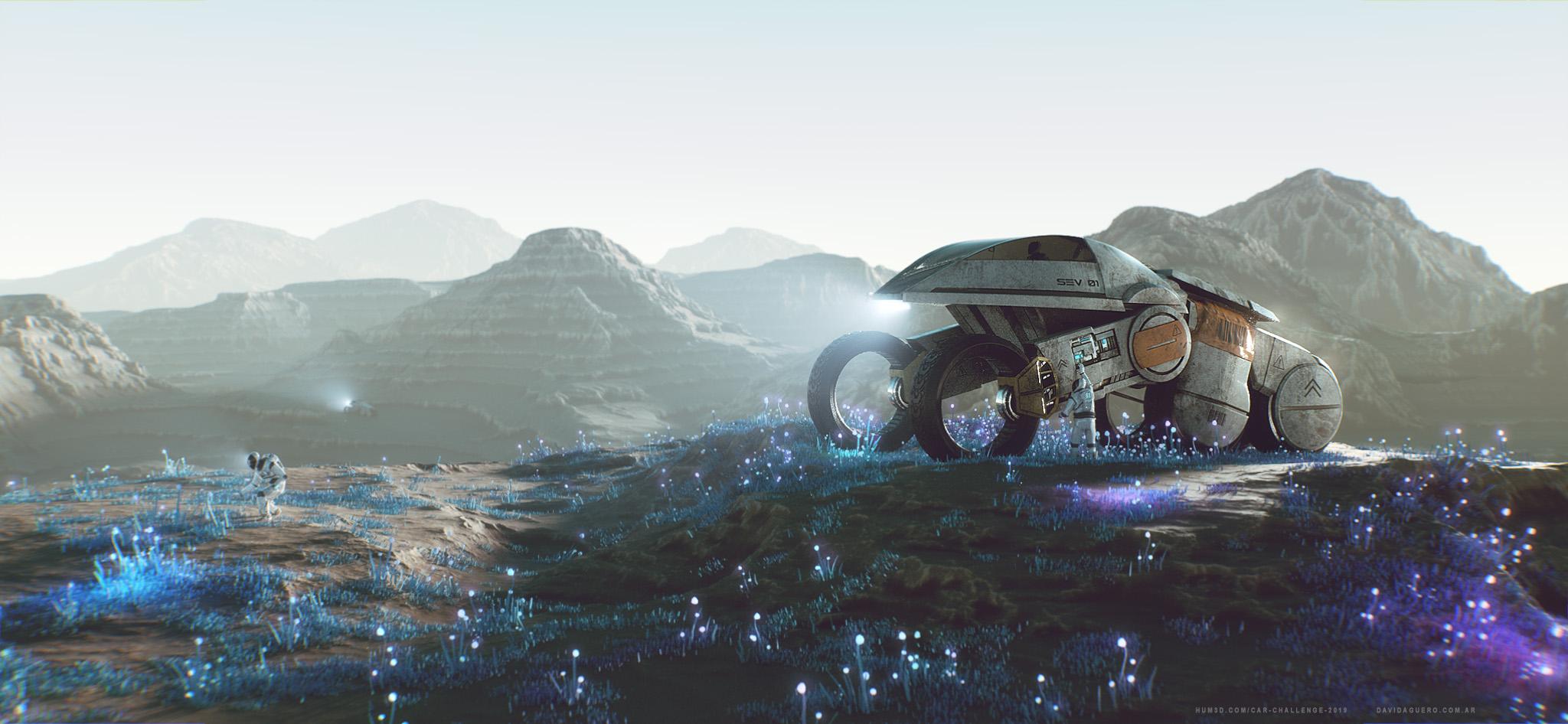 Terra 2 3d art