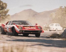 The Miura Jota prototype takes over Targa Florio