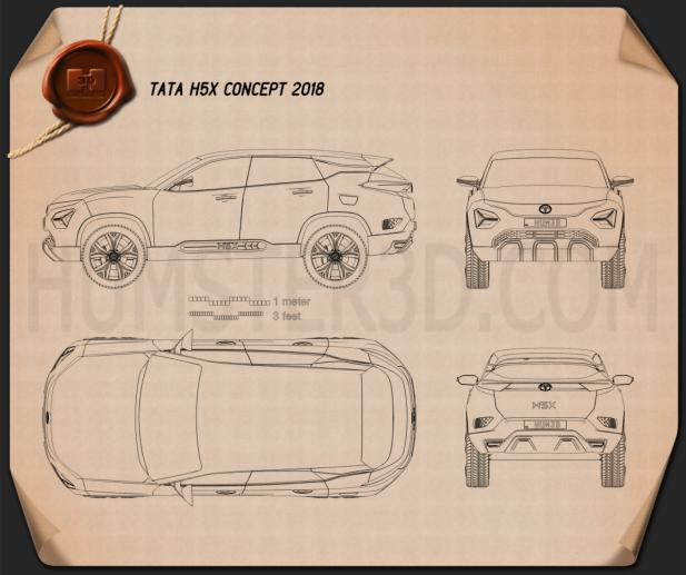Tata H5X 2018 Blueprint