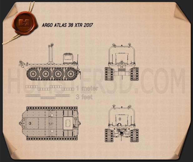 Argo Atlas J8 XTR 2017 Blueprint