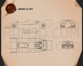Arrows A2 1979 Blueprint