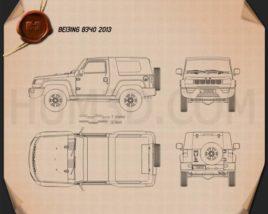 Beijing BJ40 2013 Blueprint
