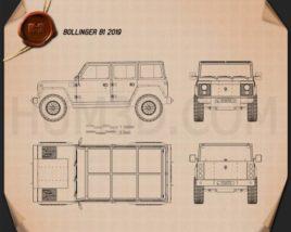 Bollinger B1 2019 Blueprint