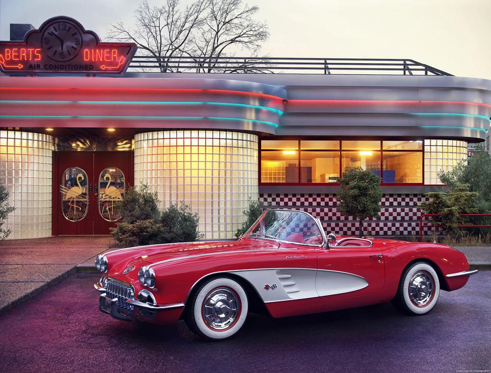 Chevrolet Corvette 1960 by Ehsan Darvishi