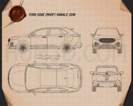 Ford Edge Vignale 2019 Blueprint