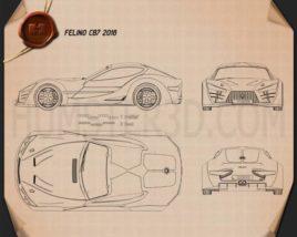 Felino cB7 2016 Blueprint