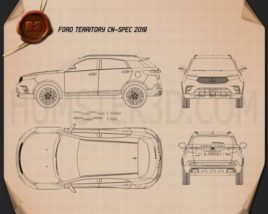 Ford Territory CN-spec 2019 Blueprint
