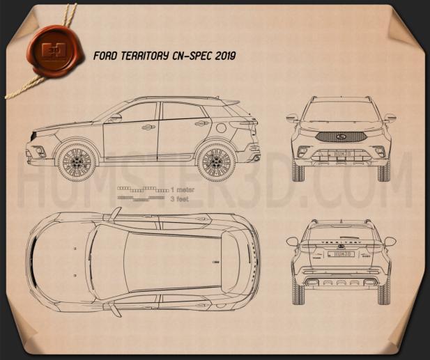 Ford Territory CN-spec 2019 Blueprint