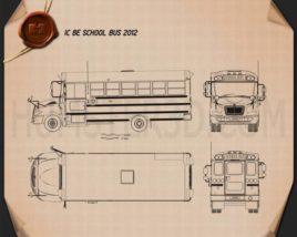 IC BE School Bus 2012 Blueprint